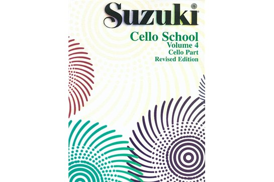 Suzuki Cello School Cello Part, Volume 4