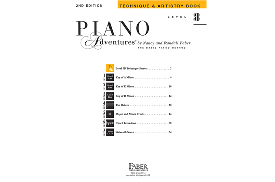 Piano Adventures Technique & Artistry Book | Faber | Heid Music
