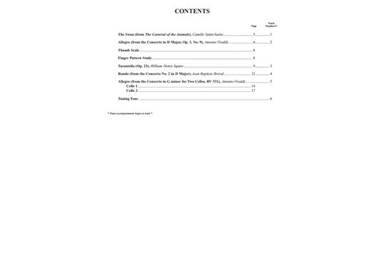Suzuki Cello School Cello Part Cd Volume 6 Alfred