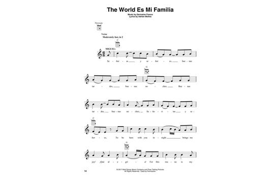 Disneypixars Coco Ukulele Heid Music