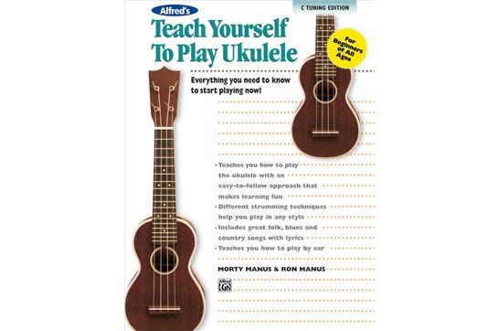 Teach Yourself to Play Ukulele, Cover