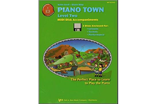 Piano Town MIDI Disk Accompaniments, Level 2   Heid Music
