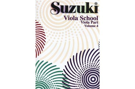Suzuki Viola School Viola Part, Volume 4 | Heid Music