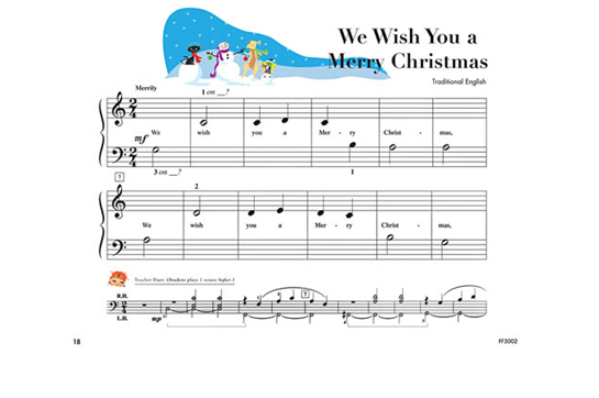 My First Piano Adventures Christmas - Book B | Heid Music