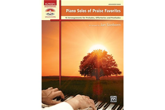Piano Solos of Praise Favorites Worship Book Heid Music