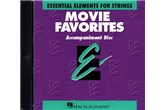 Essential Elements For Strings Movie Favorites Accompaniment CD