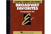 Essential Elements Broadway Favorites for Strings (CD)