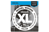 D'Addario EXL 148 Nickel Wound, Extra-Heavy, 12-60
