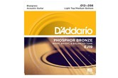 D'Addario EJ19 Light Top/Medium Bottom Acoustic Strings