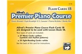 Alfred Flash Cards - Premier Piano Course 1B
