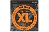 D'Addario ECG23 Chromes Flatwound Electric Strings .010-.048