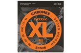 D'Addario ECG26 XL Chromes Flat Wound Medium Guitar Strings (13-56)
