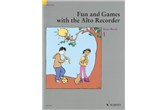 Fun and Games with Alto Recorder - Tune Book 1