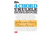 The 4-Chord Ukulele Songbook - Strum and Sing Series