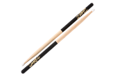 Zildjian 5B Hickory Nylon Tip Sticks (Black DIP)