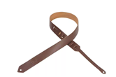 "Levy's 1 1/2"" Leather Guitar Strap (Brown)"