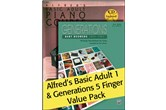 Alfred's Basic Adult 1 (Value Pack)