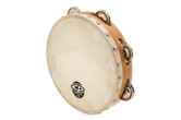 "CP 8"" Tambourine with Head Single Row"
