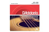 D'Addario EJ17 Phosphor Bronze Medium Acoustic Strings .013-.056
