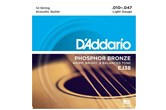 D'Addario EJ38 12-String Light Acoustic Strings
