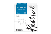 D'Addario Reserve Clarinet Reed (3.5+ ,10 Pack)