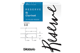 D'Addario Reserve Clarinet Reeds (3.0, 10 Pack)