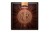 D'addarioNB1253 Nickel Bronze Acoustic Guitar Strings, Light, 12-53