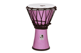 "Toca Freestyle Colorsound 7"" Djembe (Metallic Violet)"