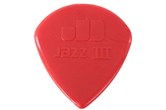 Dunlop Jazz III Red Nylon Guitar Picks (6 Pack)