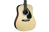 Yamaha F3HC Acoustic Guitar (Natural) w/Case