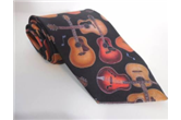 Acoustic Guitar Necktie