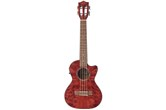Lanikai Quilted Maple Tenor Ukulele - Red