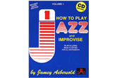 Jamey Aebersold How to Play Jazz and Improvise (Volume One)