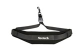 Neotech Soft Sax® Saxophone Neck Strap with Swivel Hook - XL(Black)