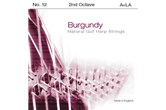 Burgundy 2nd Octave A Harp String