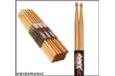 On-Stage 5A & 5B Hickory Drumsticks - (Wood or Nylon Tip)