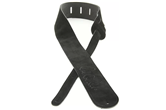 PRS Suede Signature Guitar Strap (Black)