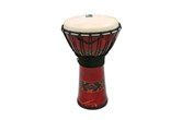 "Toca 7"" Freestyle Rope Tuned Djembe (Bali Red)"