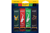 Vandoren Alto Saxophone Jazz Reed Mix Pack Strength 2.5