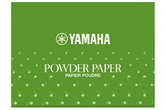 Yamaha YAC1112P Powdered Pad Paper (50 Sheets)