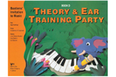 Bastiens' Invitation to Music: Theory & Ear Training Party, Book D