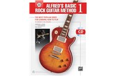 Alfred's Basic Rock Guitar Method 1 w/CD