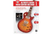 Alfred's Basic Rock Guitar Method 1 w/Online Audio & DVD