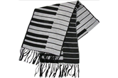 Keyboard Cashmere-like Scarf