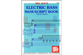 Electric Bass Manuscript Book
