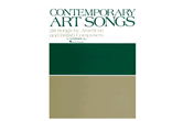 Contemporary Art Songs: 28 Songs by American and British Composers