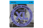 D'Addario EXL115 Medium Nickel Wound Electric Strings .011-.049