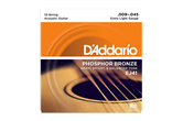 D'Addario EJ41 12-String Extra Light Acoustic Strings