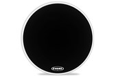 "Evans 26"" MX2 Marching Bass Head, Black"