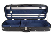 Howard Core CC525 Wood-Shell 4/4 Violin Case (Blue Interior)